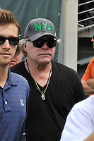 East Rutherford, NJ- Sept 11: Ray Liotta ,On the sides lines during the New York Jets vs Cincinnati Bengals  game at MetLife Stadium on September 11,2016 in East Rutherford, New Jersey.@John Palmer / Media Punch