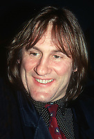 Gérard Depardieu, 1991, Photo By John Barrett/PHOTOlink