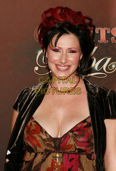 TIFFANY.At CMT Giants honoring Reba McEntire held at the Kodak Theatre, Hollywood, LA, California, USA.26 October 2006..half length cleavage pink eyeshadow.Ref: ADM/CH.www.capitalpictures.com.sales@capitalpictures.com.©Charles Harris/AdMedia/Capital Pictures.
