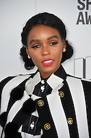 Janelle Monae at the 2017 Film Independent Spirit Awards on the beach in Santa Monica, CA, USA 25 February  2017<br /> Picture: Paul Smith/Featureflash/SilverHub 0208 004 5359 sales@silverhubmedia.com