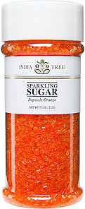 10210 Popsicle Orange Sparkling Sugar, Tall Jar 7.5 oz
