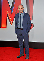 LOS ANGELES, CA. March 28, 2019: Mark Strong at the world premiere of Shazam! at the TCL Chinese Theatre.<br /> Picture: Paul Smith/Featureflash