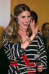 American socialite Olivia Palermo greets fans during the ''ELLE Women in Society'' event on July 13, 2015, Tokyo, Japan. The event promotes the working women's roll in Japanese society with various seminars where top businesswomen, musicians, writers and other international celebrities speak about the working women's roll in the world. By 2020 Prime Minister Shinzo Abe's administration aims to increase the percentage of women in leadership positions to 30% in Japan. (Photo by Rodrigo Reyes Marin/AFLO)