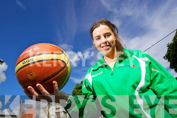 Courtney Ryan, Mounthawk , Tralee who got a place in the Irish U-16 Irish Basketball team