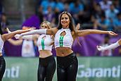 7th September 2017, Fenerbahce Arena, Istanbul, Turkey; FIBA Eurobasket Group D; Latvia versus Turkey; Cheerleaders perform