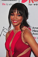 NEW YORK, NY - February 8: Rachel Lindsay at the Red Dress / Go Red For Women Fashion Show at Hammerstein Ballroom on February 8, 2018 in New York City Credit: John Palmer / MediaPunch<br /> CAP/MPI/JP<br /> &copy;JP/MPI/Capital Pictures