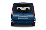 Straight rear view of 2020 Ford Grand-Tourneo-Connect Titanium 5 Door Minivan Rear View  stock images