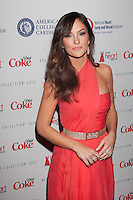 NEW YORK, NY - FEBRUARY 6: Minka Kelly in Oscar de la Renta  attends The Heart Truth Red Dress Collection 2013 Fashion Show on February 6, 2013 in New York City. © Diego Corredor/MediaPunch Inc. .... /NortePhoto