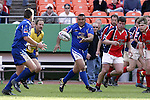 30 April 2005: Kansas City's Joe Sika. The Kansas City Blues defeated the Philadelphia Whitemarsh RFC 41-14 at the Arrowhead Stadium in Kansas City, Missouri in a Rugby Super League regular season game. .