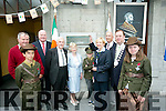 At the Iarnrod Eireann 1916 Commemoration of Roger Casement at Tralee Station on Saturday werel-r  Abraham Harazi, Michael  McMahon,  Andrew Roche, Iarnrod Eireann Business Manager Sean Joseph O'Conchuir, Dawn Ni Conchuir, Shane Guerin, Catherine Cahill, Station Manager, James Mackey, Amanda Ryan and Tom McEllistrim