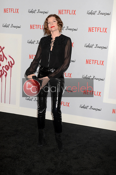"Rene Russo<br /> at the ""Velvet Buzzsaw"" Los Angeles Premiere Screening, Egyptian Theater, Hollywood, CA 01-28-19<br /> David Edwards/DailyCeleb.com 818-249-4998"