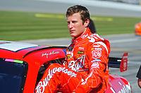 Feb 08, 2009; Daytona Beach, FL, USA; NASCAR Sprint Cup Series driver Kasey Kahne during qualifying for the Daytona 500 at Daytona International Speedway. Mandatory Credit: Mark J. Rebilas-