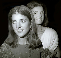 Caroline Kennedy Jacqueline Kennedy 1978<br /> Photo By Adam Scull/PHOTOlink.net