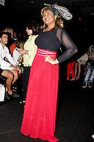 SAO PAULO, SP, 24 DE JANEIRO 2012 - SPFW  - MOVIMENTACAO - A cantora Gaby Amarantos, conhecida como Beyonce do Para, durante a São Paulo Fashion Week 2012, no predio da Bienal, no Parque do Ibirapuera, na zona sul de Sao Paulo, nesta terca-feira, 24. (FOTO: MILENE CARDOSO - NEWS FREE).