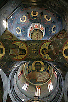 Kiev-Pechersk Lavra,Church of All Saints (Provision gates),1696,Dome painting of the Church of All Saints.,Kiev,Ukraine