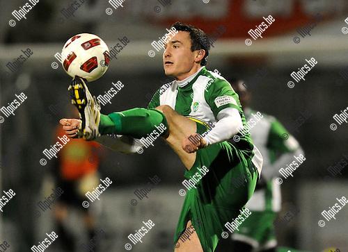 2011-01-22 / Voetbal / seizoen 2010-2011 / Willebroek-Meerhof - KFC Zele / Bert Tuteleers..Foto: mpics
