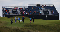 View of the 16th during a practice round ahead of the 148th Open Championship, Royal Portrush Golf Club, Portrush, Antrim, Northern Ireland. 16/07/2019.<br /> Picture David Lloyd / Golffile.ie<br /> <br /> All photo usage must carry mandatory copyright credit (© Golffile | David Lloyd)