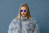 Lauren Remington Platt attends Day 4 of New York Fashion Week on Feb 15, 2015 (Photo by Hunter Abrams/Guest of a Guest)