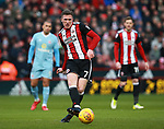 John Lundstram of Sheffield Utd during the Championship match at Bramall Lane Stadium, Sheffield. Picture date 26th December 2017. Picture credit should read: Simon Bellis/Sportimage
