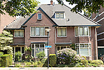 Traditional domestic architecture semi-detached houses,  Amersfoort, Netherlands