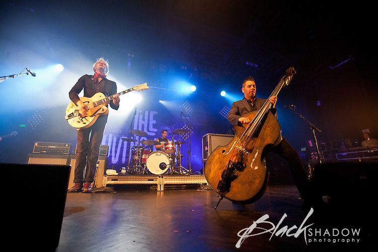 The Living End performing at The Palace Theatre, Melbourne, 9 September 2011