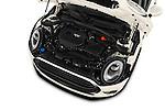 Car Stock 2016 MINI Clubman One 5 Door Wagon Engine  high angle detail view