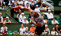 SIMONE BOLELLI (ITA)<br /> <br /> TENNIS - FRENCH OPEN - ROLAND GARROS - ATP - WTA - ITF - GRAND SLAM - CHAMPIONSHIPS - PARIS - FRANCE - 2018  <br /> <br /> <br /> <br /> &copy; TENNIS PHOTO NETWORK