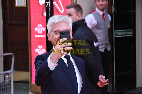 LONDON, ENGLAND - MARCH 15: Phillip Schofield at the Prince's Trust and Samsung Celebrate Success Awards 2017, The London Palladium, Argyll Street, London, England, UK, on Wednesday 15 March 2017.<br /> CAP/JOR<br /> &copy;JOR/Capital Pictures
