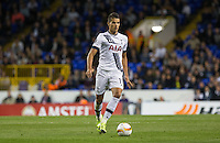 Erik Lamela of Tottenham Hotspur on the ball during the UEFA Europa League match between Tottenham Hotspur and Qarabag FK at White Hart Lane, London, England on 17 September 2015. Photo by Andy Rowland.