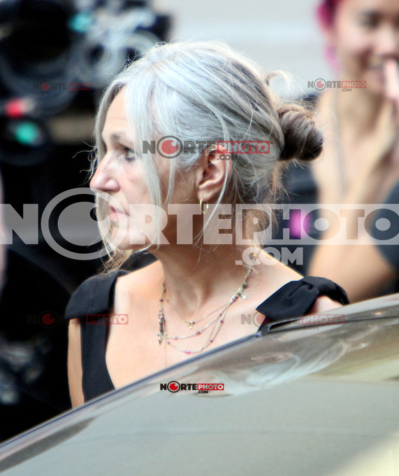 July 12, 2012 Sharman Macdonald, mother of Keira Knightley shooting on location for new VH-1 movie Can a Song Save Your Life? in New York City. &copy; RW/MediaPunch Inc. /*NORTEPHOTO*<br />