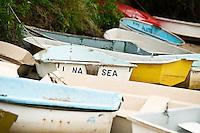 Rowboats.