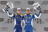 #81 BimmerWorld Racing, BMW 328i, ST: Nick Galante, Devin Jones, podium