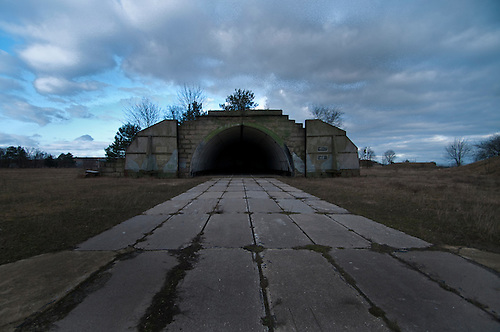 An old Soviet military airbase, in East Germany, shot just before the sun went down, really giving this place an apocalyptic feel and look.