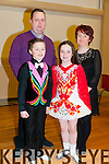 Listowel Fashion Show: Sean & Leah Slemon with their parents Harry & Annetteat the Listowel fashion show held at Scoil Realta na Madna, Listowel  on Friday night  last to raise funds to send them to compete in the World Dance Championships in Montreal next month