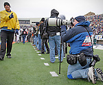 "Don't you just love those sideline security guys? There is Dan ""Diesel"" Wozniak at right wearing the Modular Component Belt System and working the University of Miami Hurricanes vs Notre Dame game in the 77th Hyundai Sun Bowl Game in El Paso, Texas on December 31, 2010."