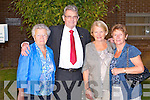 KERRY HOSPICE: Enjoying the Kerry Hospice Foundation Gathering at the Palliative care unit at KGH on Friday l-r: Esther Coffey, Kerins Park, Tralee, Ted Moynihan (chairman Kerry Hospice Foundation), Rosaire O'Connor, Strand Street, Tralee and Mary McCarthy, Rahillys Villas, Tralee.