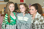 Girl fun: Brenda O'Donoghue, Amy Lyons and Michelle McCarthy at the Listowel KDYS Girls Night In on Thursday.