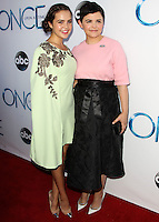 HOLLYWOOD, LOS ANGELES, CA, USA - SEPTEMBER 21: Bailee Madison, Ginnifer Goodwin arrive at the Los Angeles Screening Of ABC's 'Once Upon A Time' Season 4 held at the El Capitan Theatre on September 21, 2014 in Hollywood, Los Angeles, California, United States. (Photo by Celebrity Monitor)