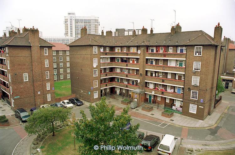 Rockingham Estate, Elephant and Castle, London.