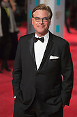London, UK. 14 February 2016. Screenwriter Aaron Sorkin. Red carpet arrivals for the 69th EE British Academy Film Awards, BAFTAs, at the Royal Opera House. © Vibrant Pictures/Alamy Live News