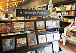 Concert hall bookshop, Snape Maltings, Suffolk, England, UK