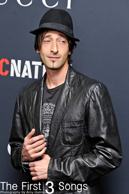 Actor Adrien Brody attends the Gucci/RocNation Pre-Grammy Brunch at Soho House in West Hollywood, CA on Saturday, February 12, 2011.