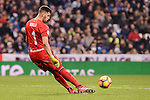 Real Sociedad's Geronimo Rulli during La Liga match between Real Madrid and Real Sociedad at Santiago Bernabeu Stadium in Madrid, Spain. January 29, 2017. (ALTERPHOTOS/BorjaB.Hojas)