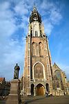 Nieuwe Kerk, Hugo Grotius statue, Delft, Netherlands