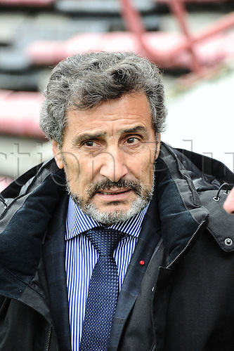 28.02.2016. Toulouse, Frace. Top14 rugby union league, Toulouse versus Montpellier.  Coach Morad Altrad (mhr)