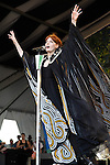 Florence and the Machine performs during the New Orleans Jazz & Heritage Festival in New Orleans, LA on May 3, 2012.