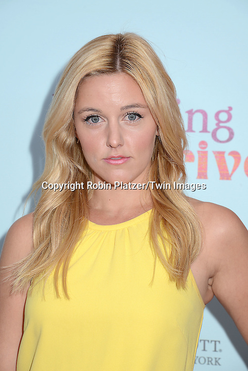Taylor Louderman attends the NewYork VIP Premiere of &quot;Learning to Drive&quot;<br /> on August 17, 2015 at The Paris Theatre in New York City, New York, USA. <br /> <br /> photo by Robin Platzer/Twin Images<br />  <br /> phone number 212-935-0770