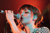 Feb 25, 2013: CHVRCHES - Ruby Lounge Manchester UK