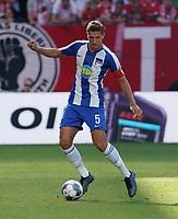 Niklas Stark(Hertha BSC Berlin) - 14.09.2019: 1. FSV Mainz 05 vs. Hertha BSC Berlin, 4. Spieltag Bundesliga, OPEL Arena<br /> DISCLAIMER: DFL regulations prohibit any use of photographs as image sequences and/or quasi-video.