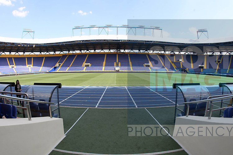 The Metalist Stadium Kharkiv, Ukrane one of the UEFA 2012 European Championships venues